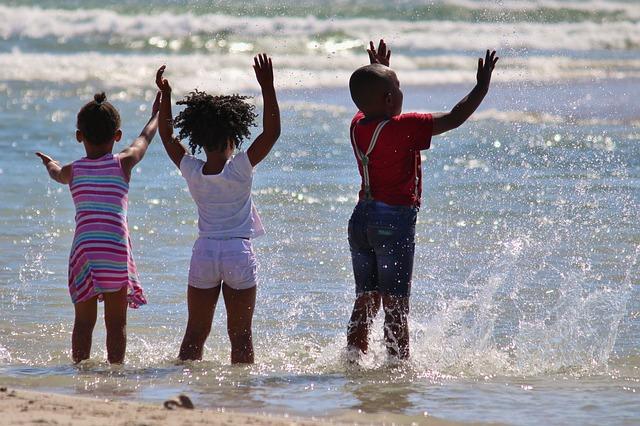 černé děti