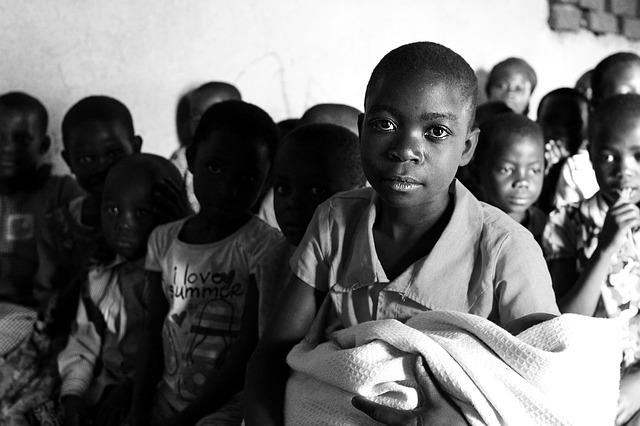 děti ugandy