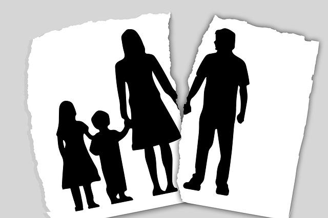Rodina, rozpad rodiny, děti.