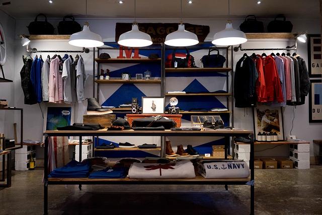 obchod s oblečením